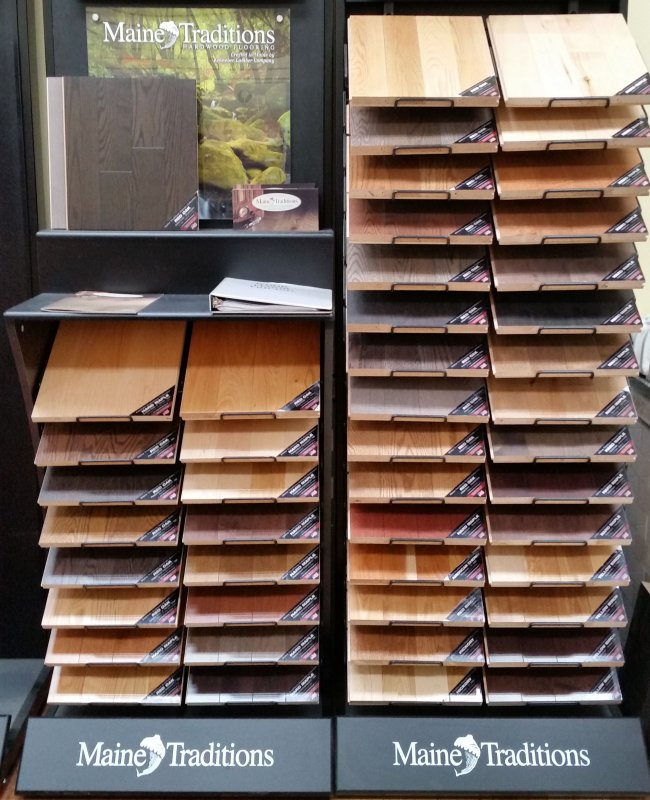 We have hundreds of wood flooring samples to review