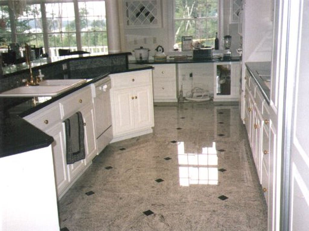 Marble and Granite flooring and countertops
