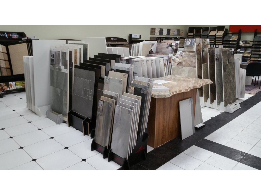 We have ceramic and porcelain samples from many vendors to help your home improvement plan